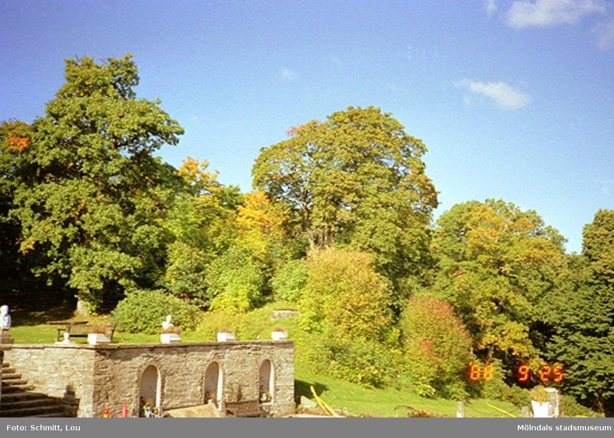 Parken vid Gunnebo slott, 1988-09-25.