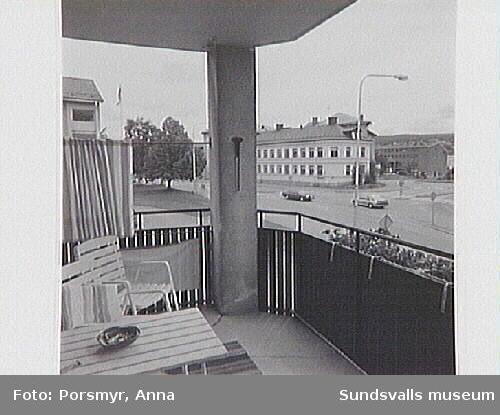 Dokumentation av pensionärshemmet Holmgården, Holmgatan 1, inför flyttning av verksamheten till nytt servicehus i kv Hermes.
