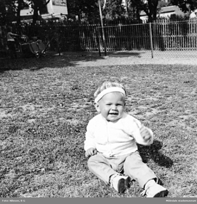 Mats Olsson, 15 mån 1959, Holtermanska daghemmet.