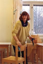 Tvätt av stolar