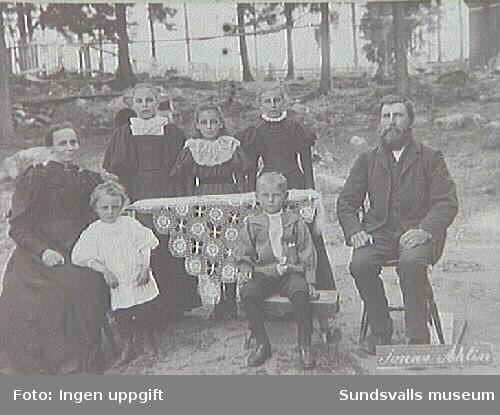 Alnö hembygdsförenings fotosamlingFotografiet taget under patron Öqvists tid som ägare.
