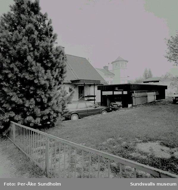 Villa och carport, kv. Asken 16, Thulegatan 53.