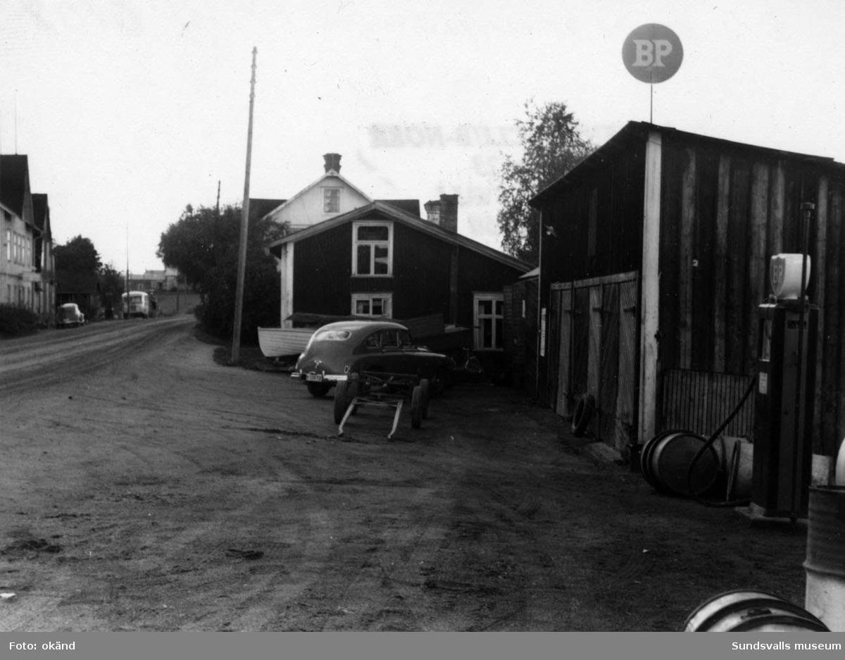 BP-stationen Torpshammar, Ånge.