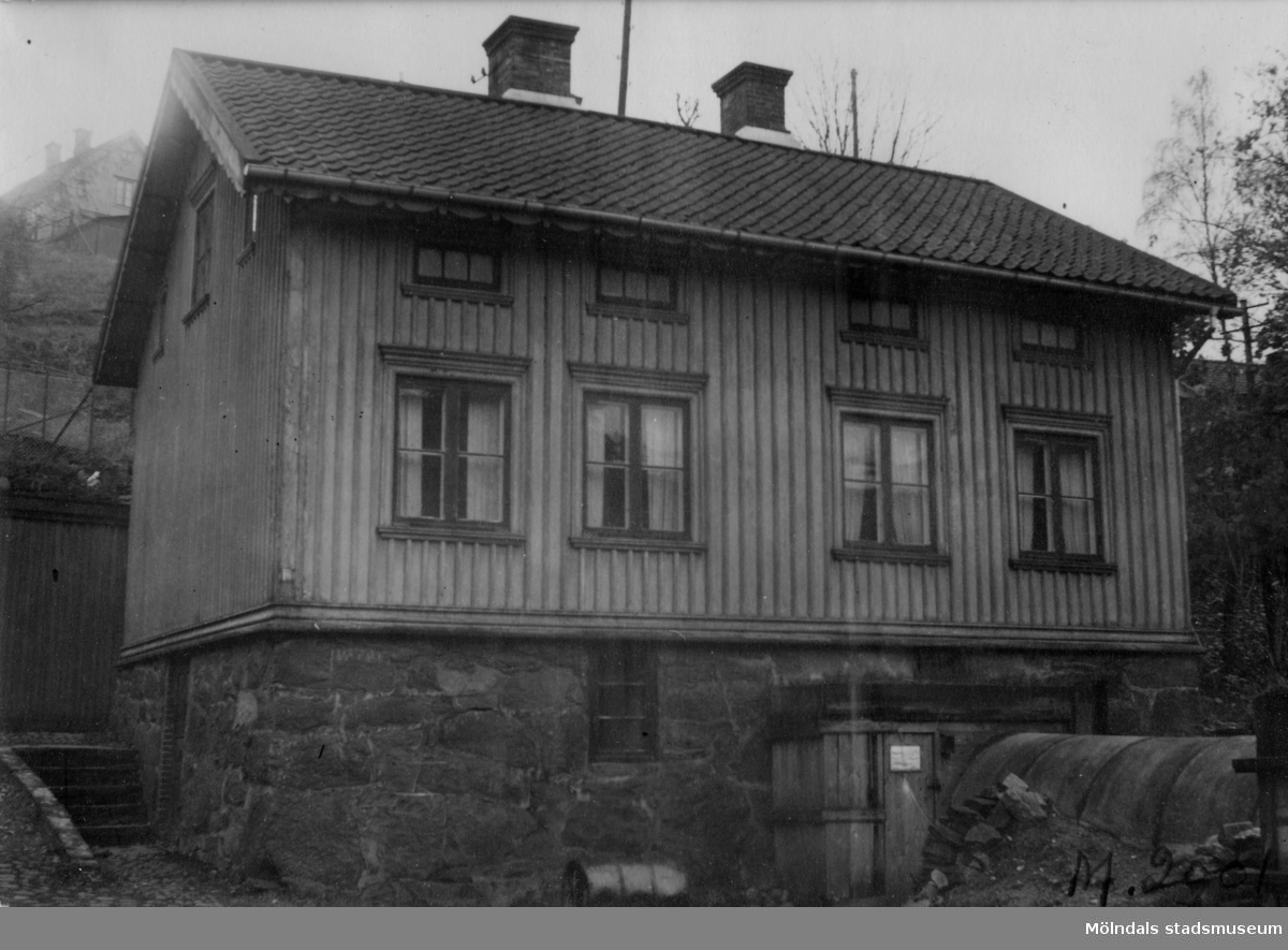 Kvarn nr 25 i Götaforsliden.