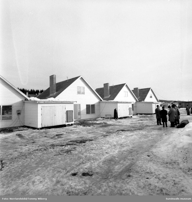 Nytt egnahemsområde byggs i Nolby, vid Soledevägen-Karlavägen.