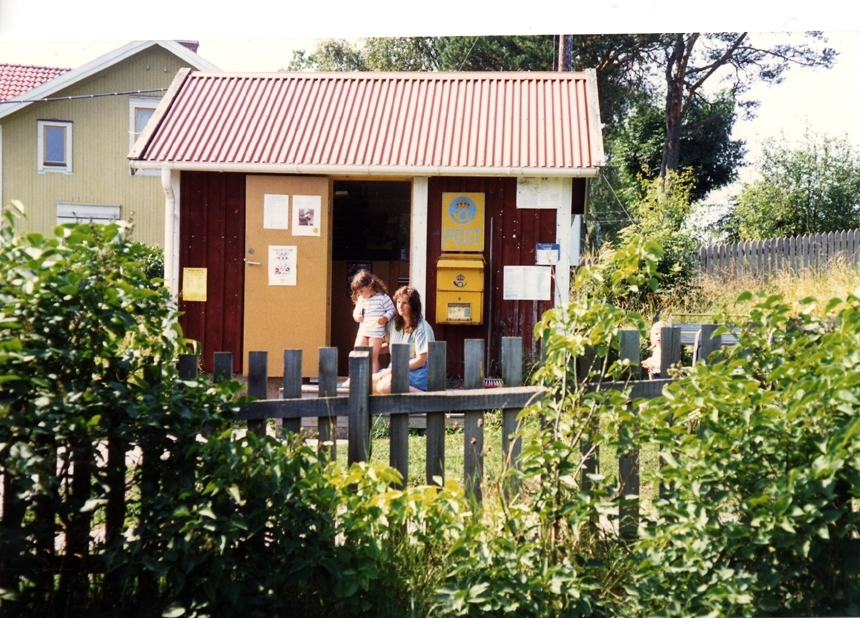 Tjockö postkontor, 1990.