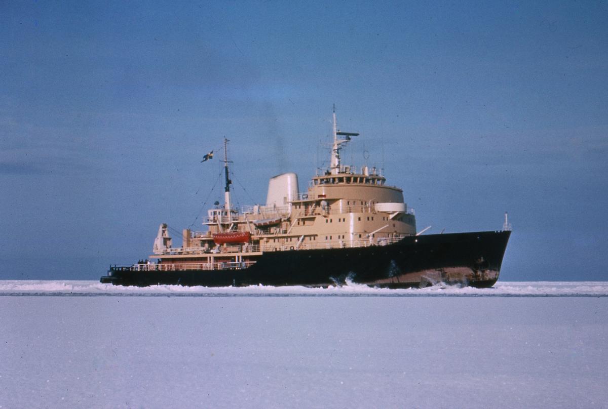 Fartyg: ODEN                            Rederi: Kungliga Flottan, Marinen Byggår: 1957 Varv: Wärtsila, Helsingfors (SF)