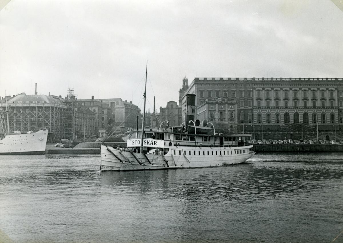 Foto i oktober 1952