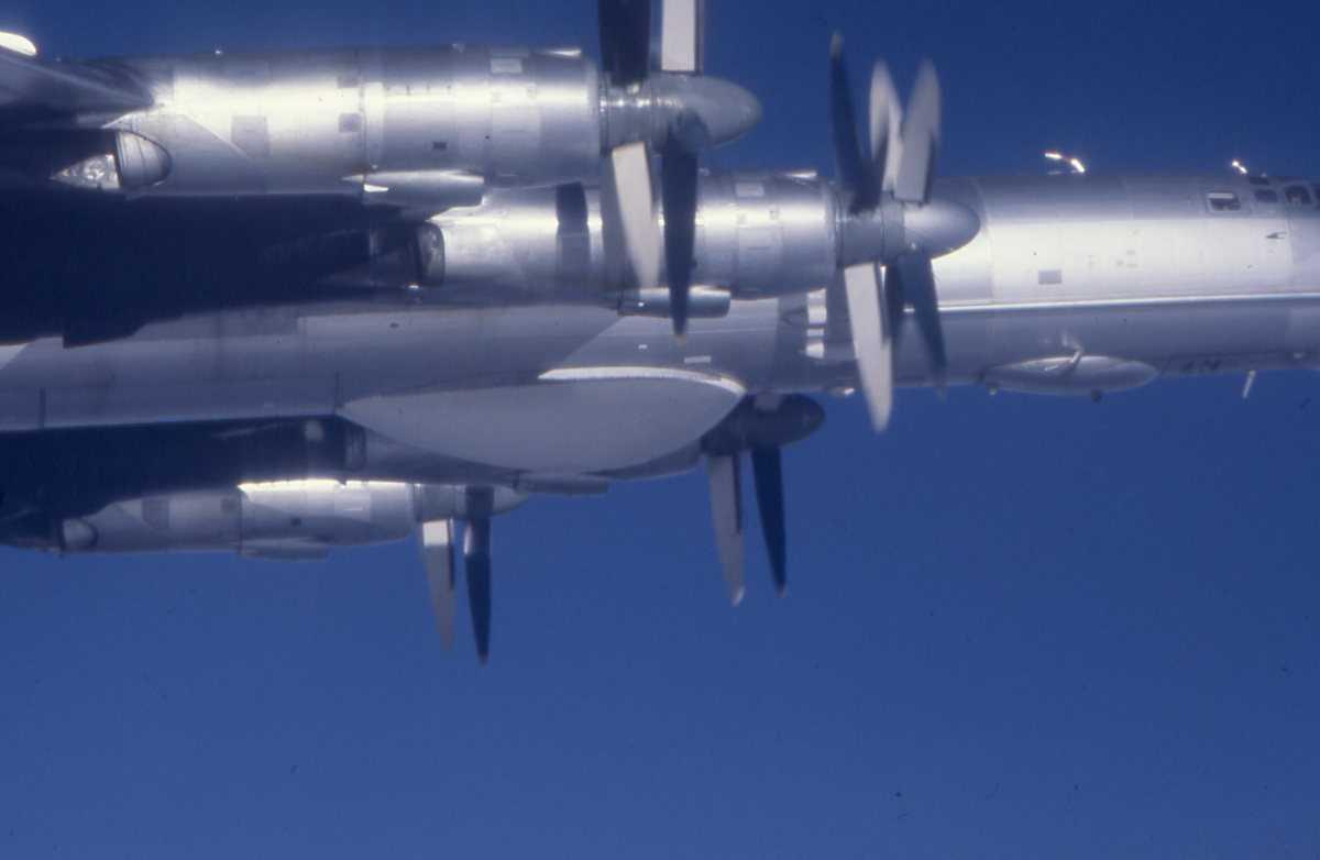 Russisk fly av typen Bear F.