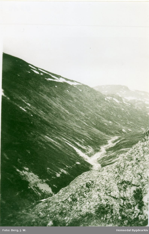 Ukjent fjellområde