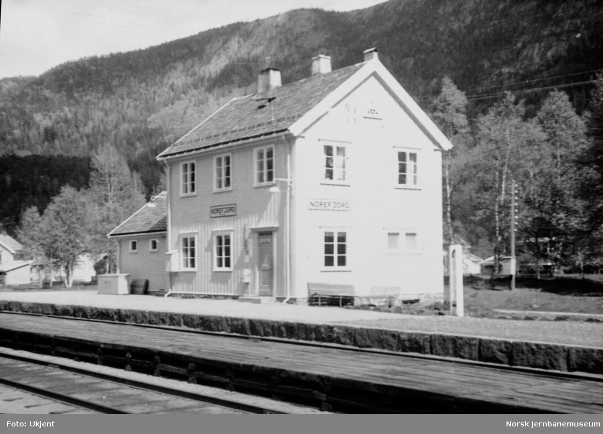 Norefjord stasjonsbygning