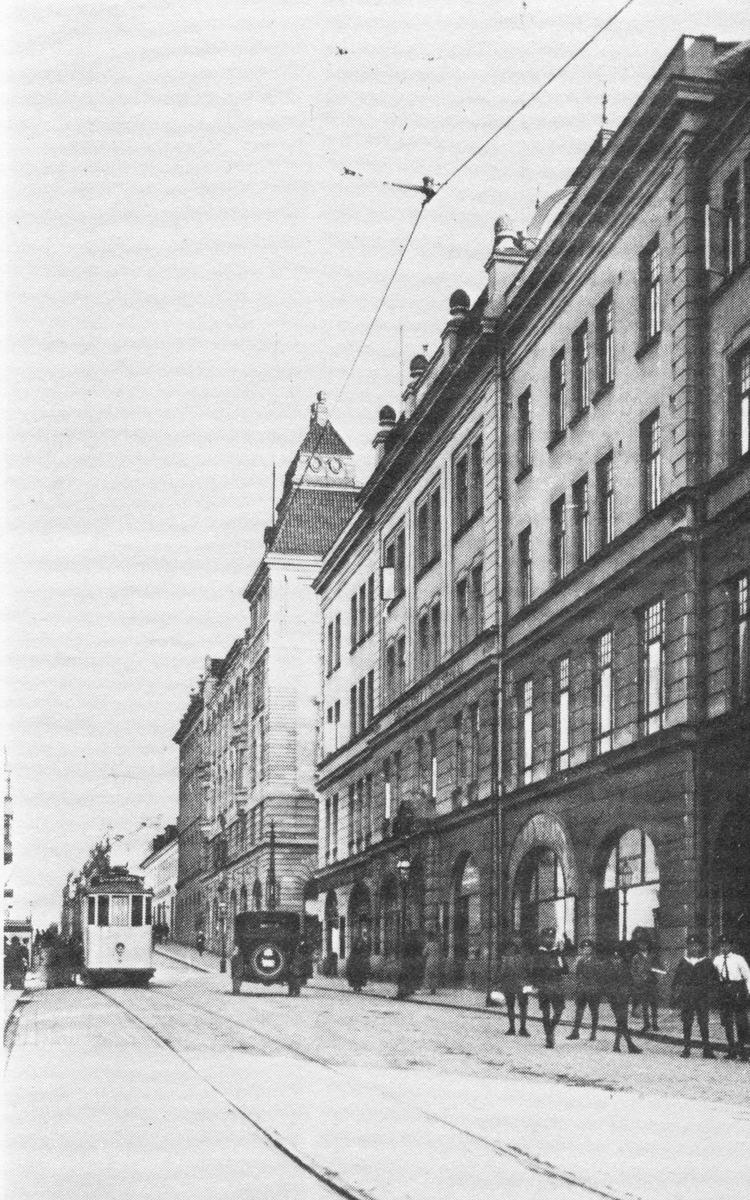 Övrigt: Ronnebygatan/Sparbankens och svenska handelsbankens byggnader.
