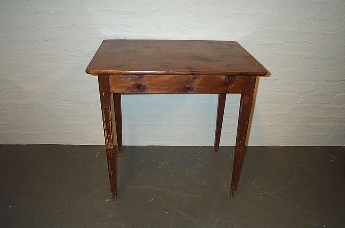 Form: Rektanguler bordplate
