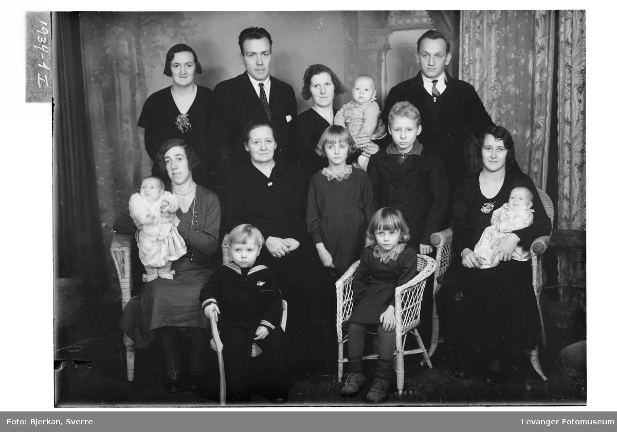 Anne Markhus med familie