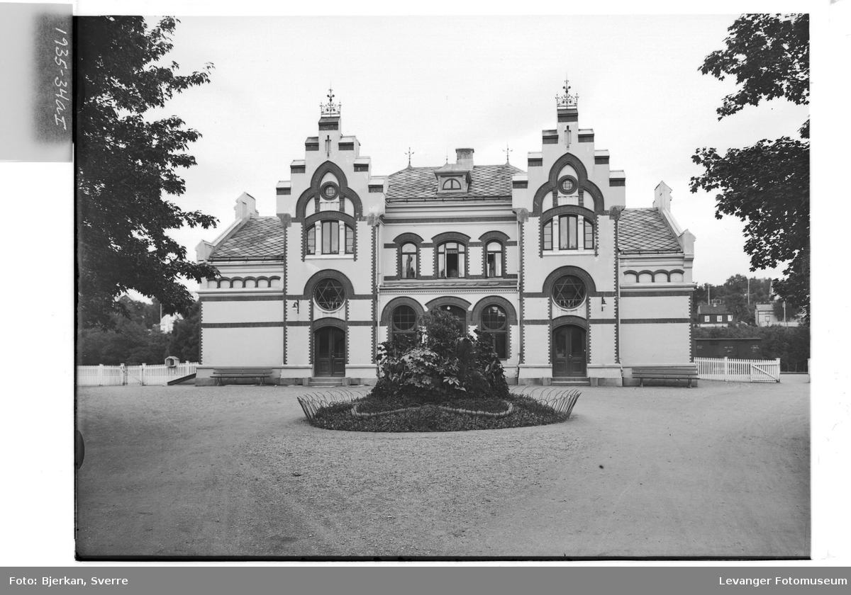 Jernbanestasjonen i Levanger