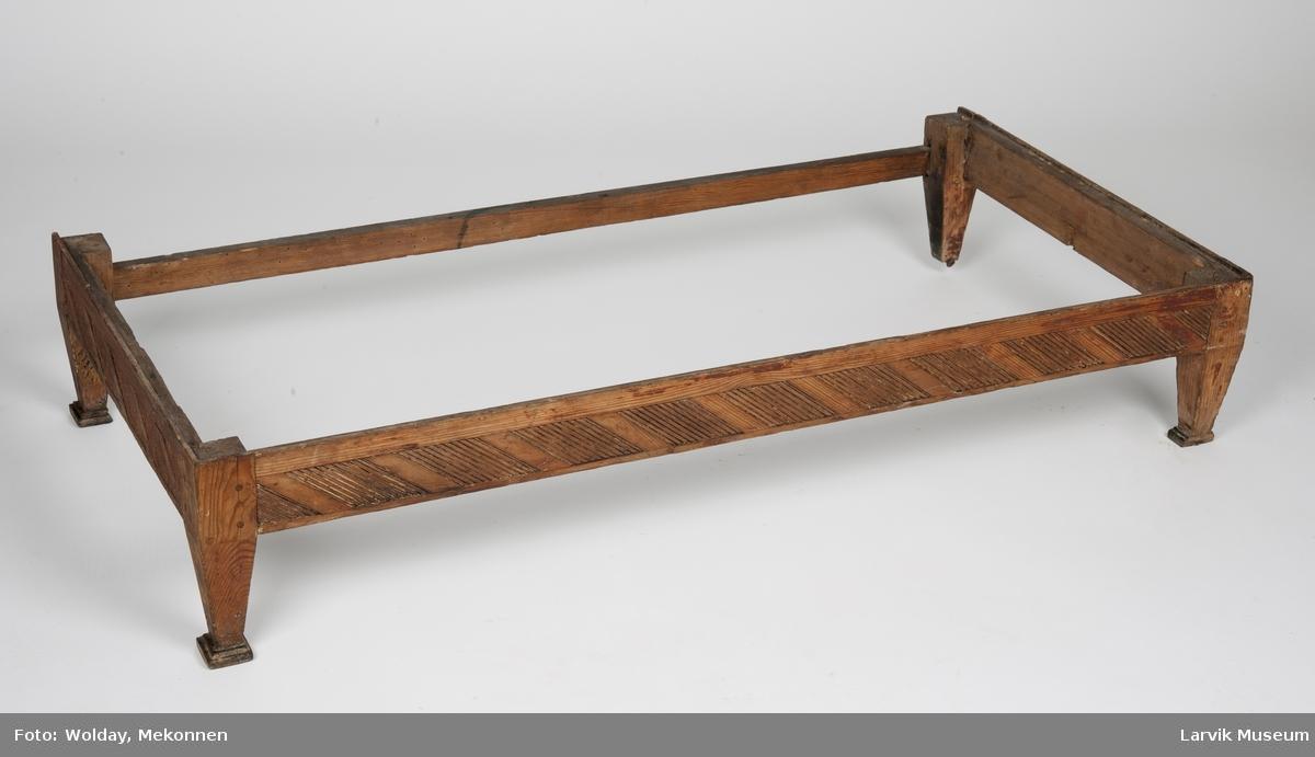 Form: Rektangulært