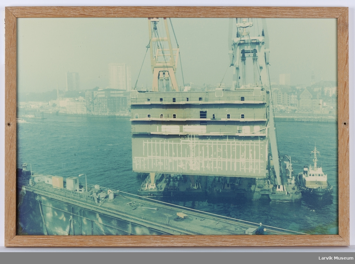 Fra skipsverftet Peter Wessel gjøres større