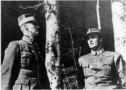 Kongen og Kronprinsen 1940. Kongen og Kronprinsen under bjør