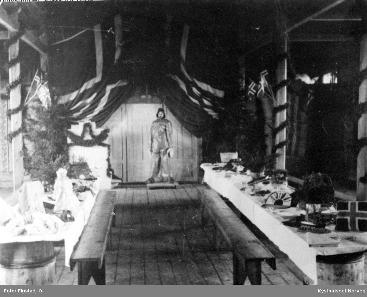 Sør-Gjæslingan, basar-åpning i Bedehus-salen