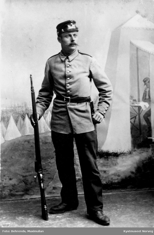 Kristian Torbergsen i uniform