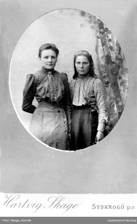 Agnes Brækkan Fossaa og Kaspara Brekkan Strøm