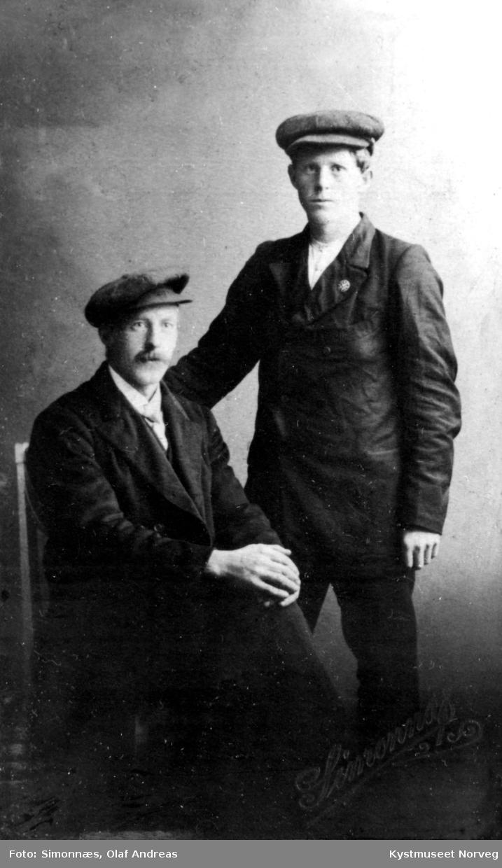 Hilmar og Ditlev B. Fjukstad