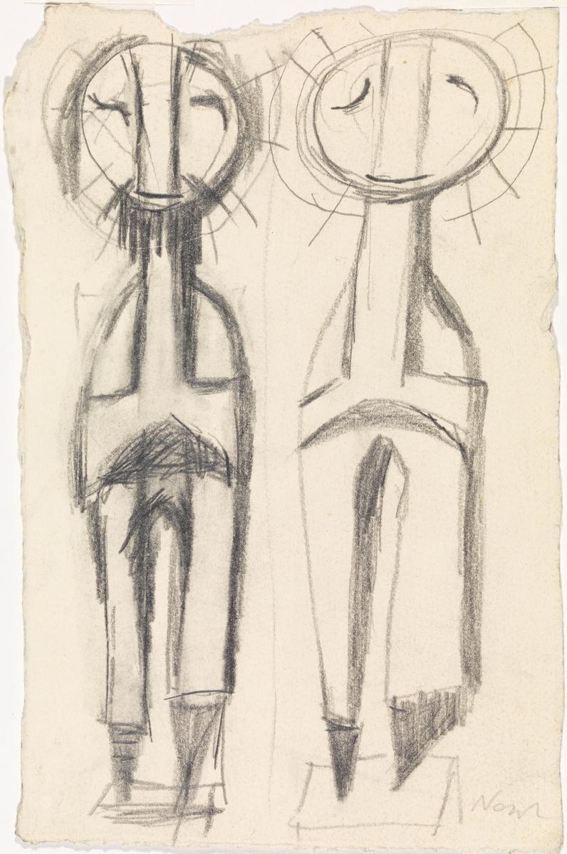To helgener [Tegning]