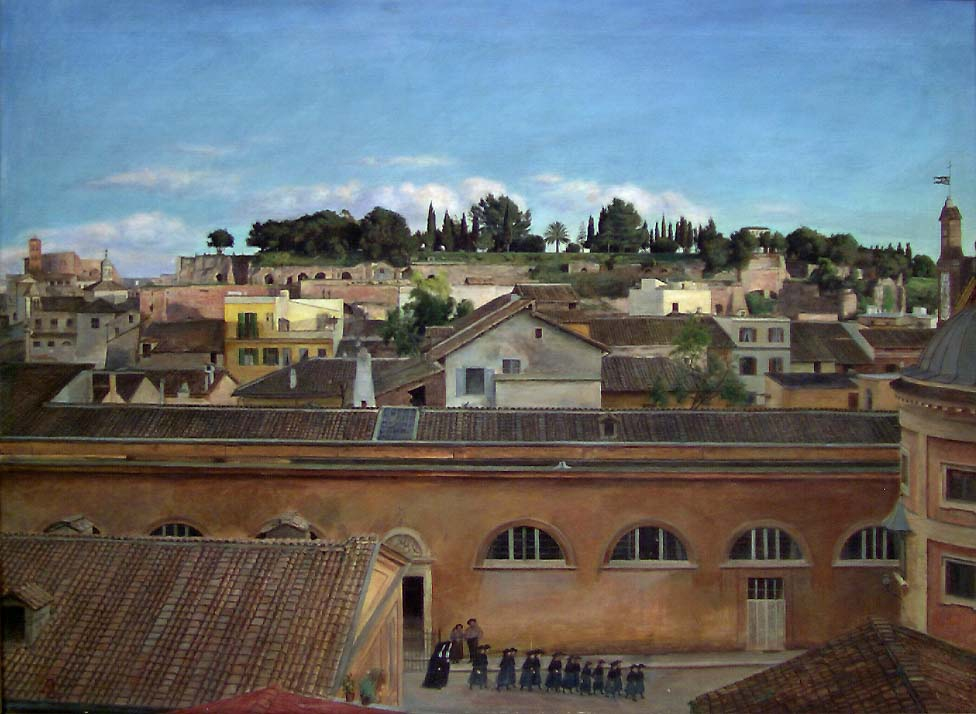 Utsikt mot Palatinen [Maleri]