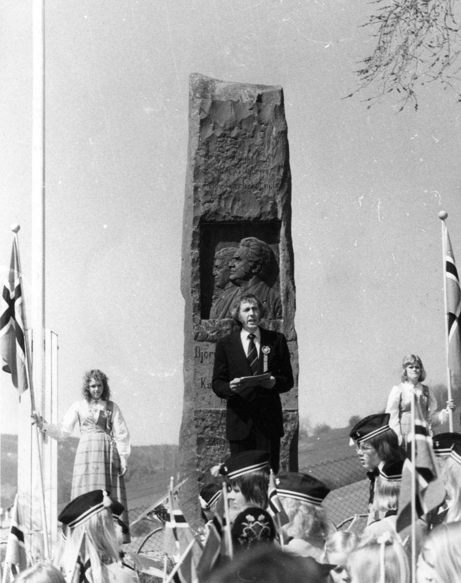DOK:1975, Aulestad, jubileum, 17. mai, tale,