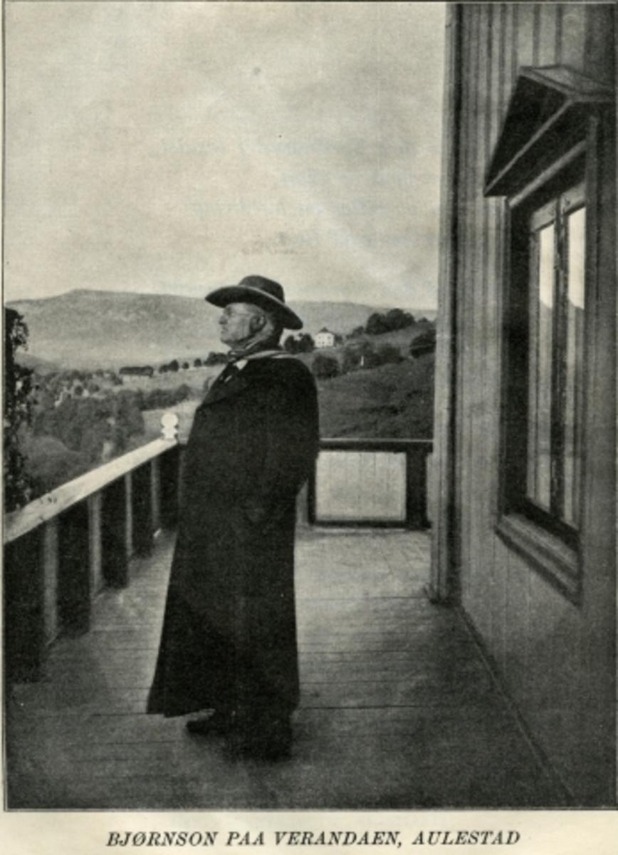 Aulestad, veranda, Bjørnson,