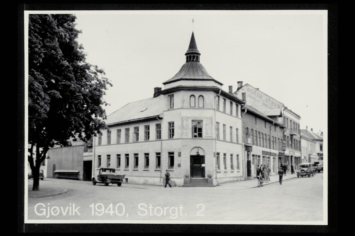 eksteriør, postkontor, 2800 Gjøvik