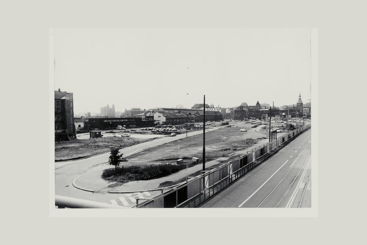 eksteriør, postterminal, Oslo, Postgiro, byggeprosess, 28. juni 1972