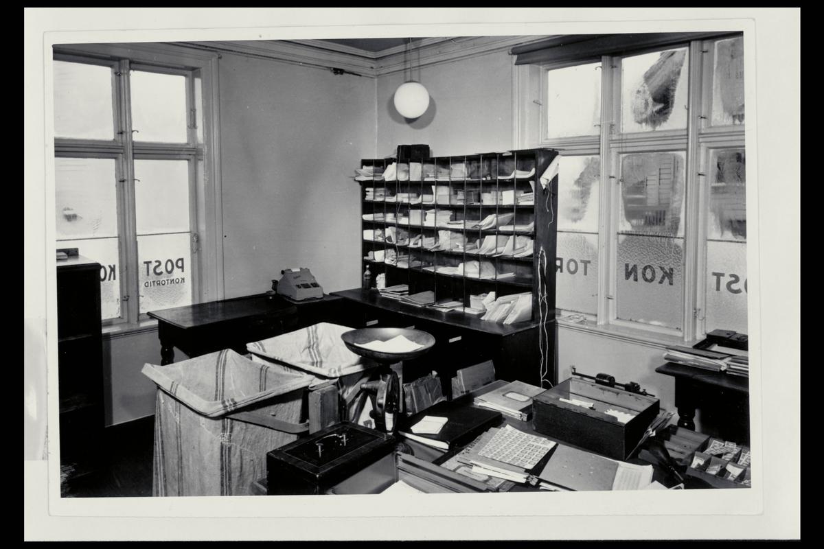 interiør, postkontor, 4001 Stavanger, pakkeavdeling