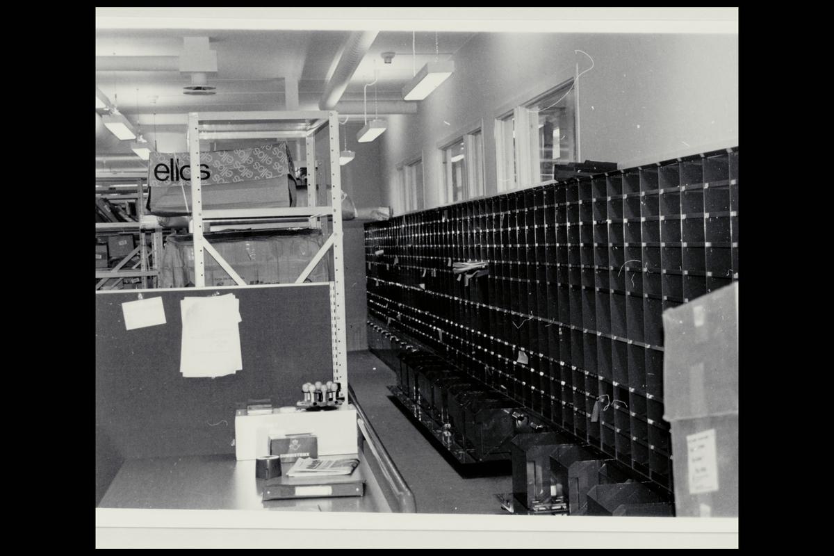 interiør, postkontor, 9800 Vadsø, postboksanlegg