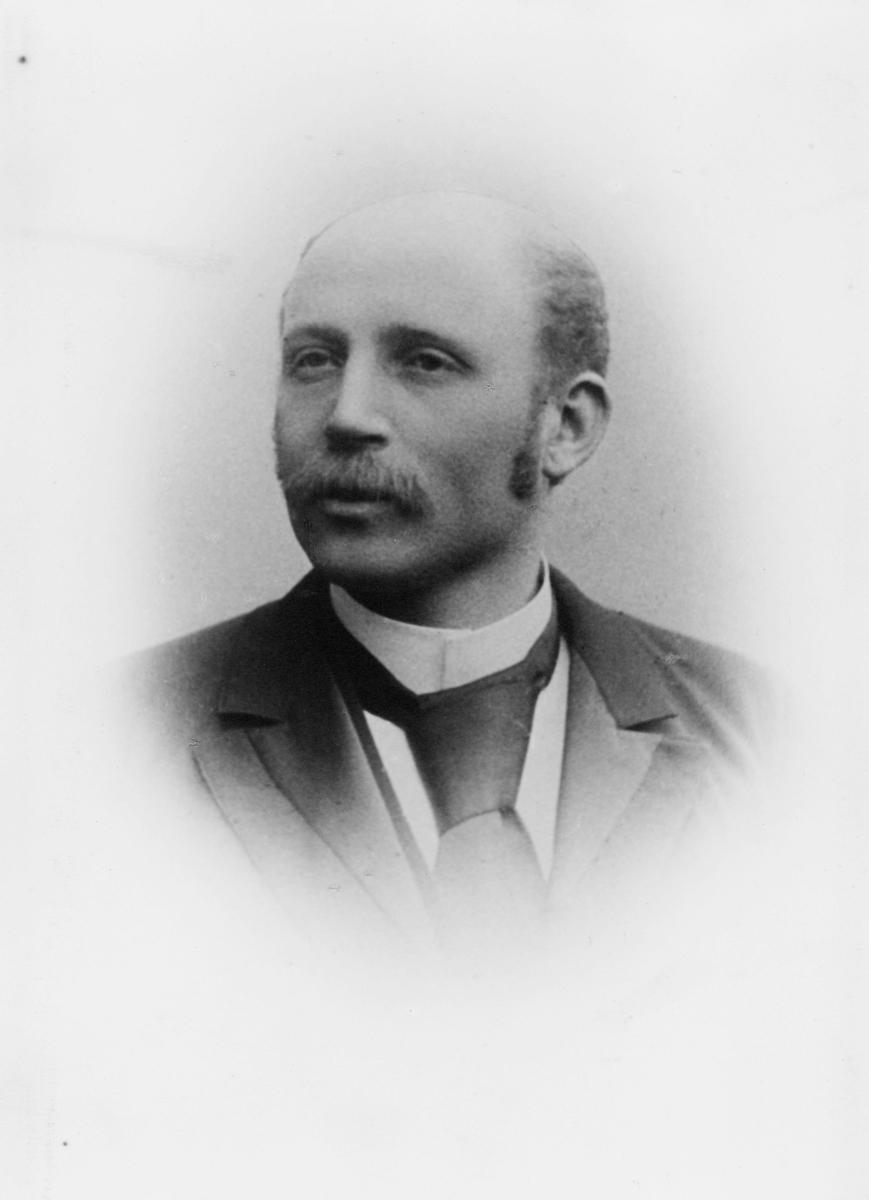portrett, postmester, Ole Ellefsen