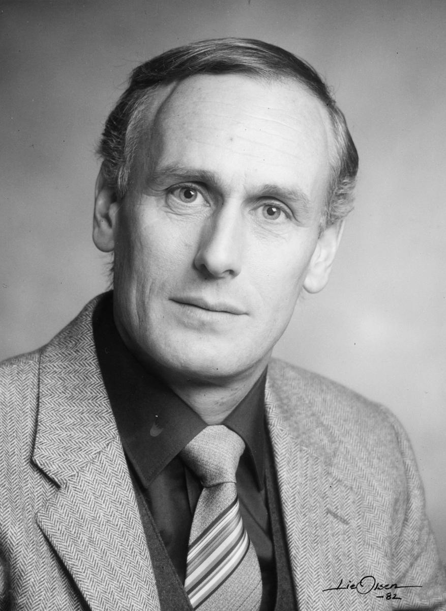 postsjef, Andersen Rolf Henry, portrett