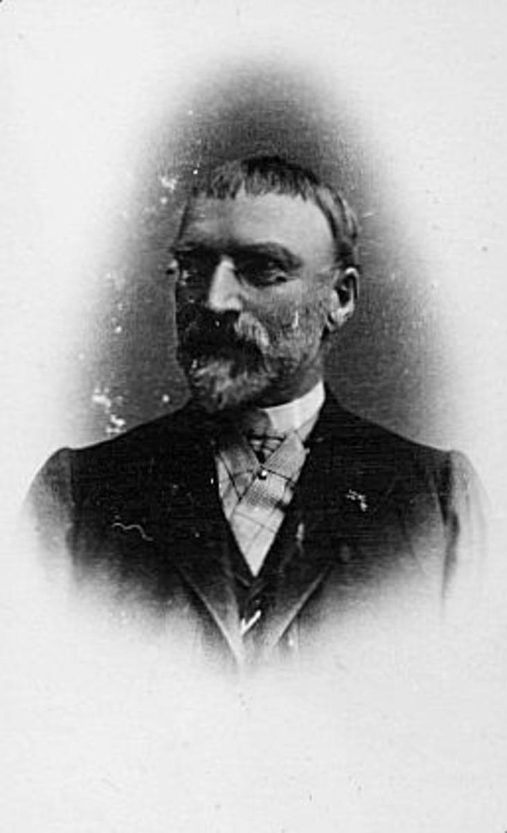 statsråd, Thilesen Georg August, portrett