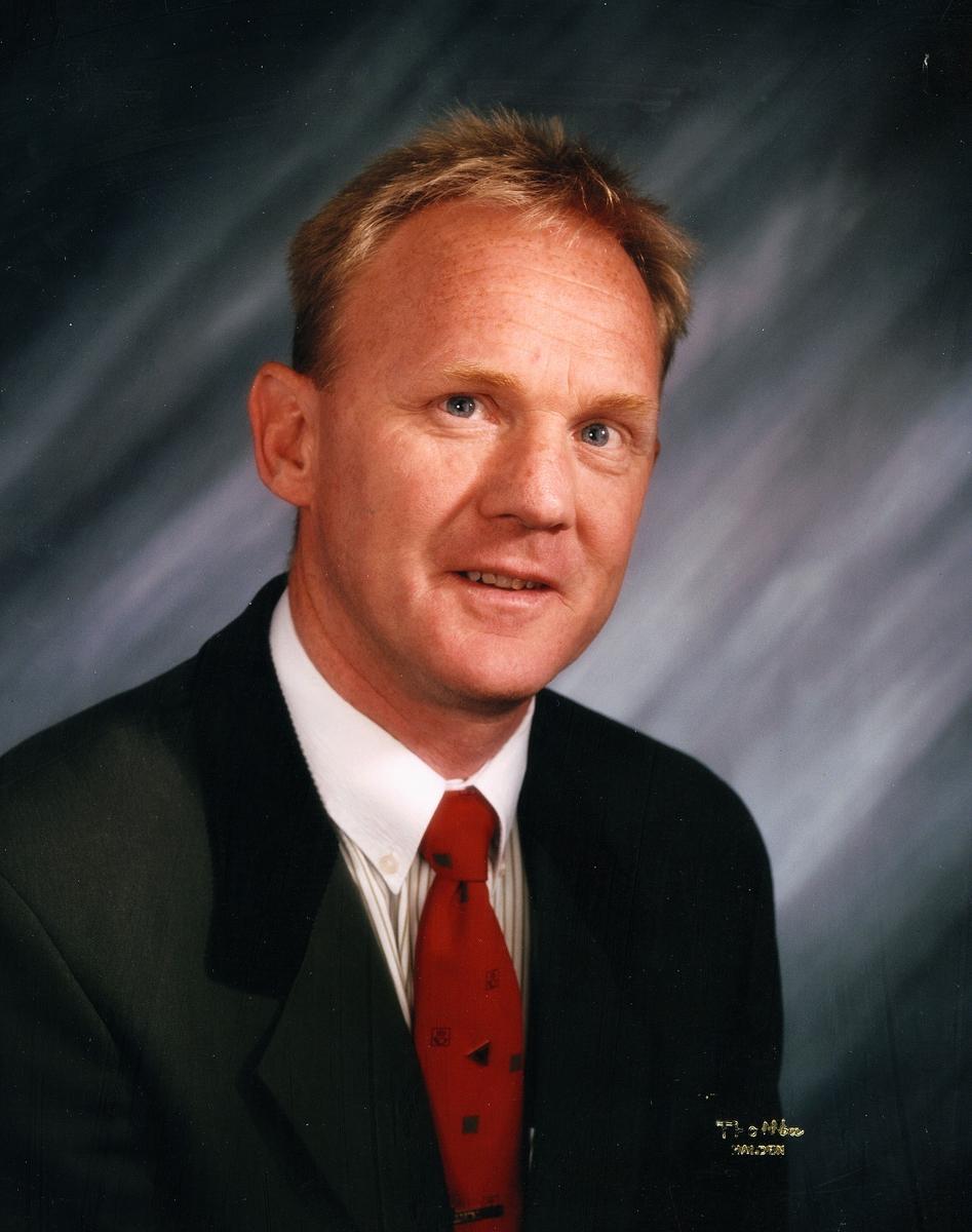 portrett, mann, postmester, Henning Vatvedt