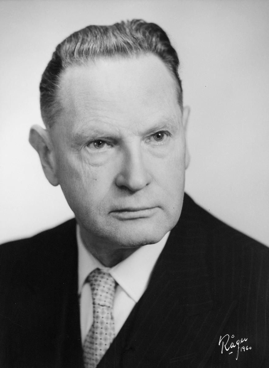 portrett, mann, Einar Behn