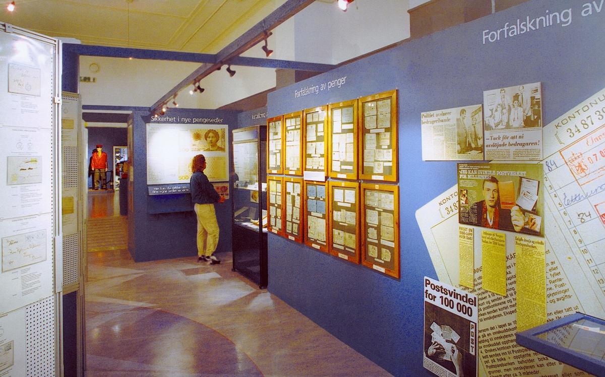 postmuseet, Kirkegata 20, utstilling, forfalskningens kunst