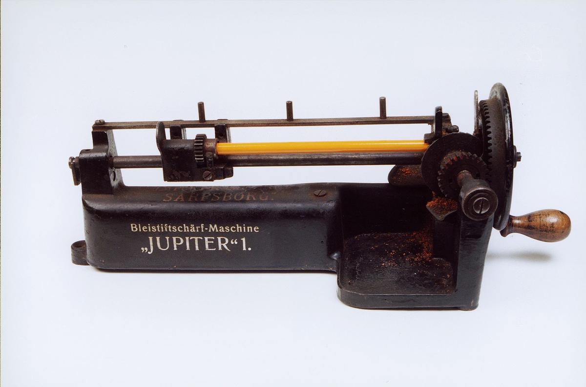 postmuseet, gjenstander, blyantspisser, Jupiter 1