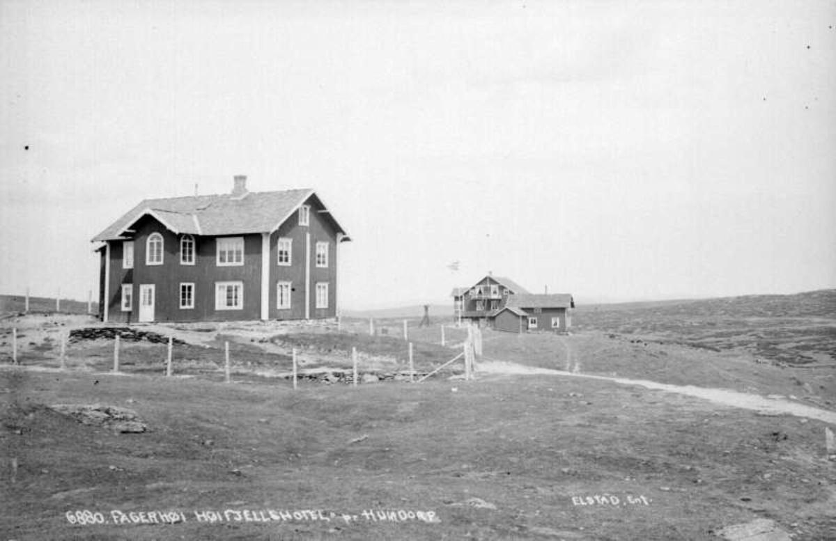 Sør-Fron. Fagerhøy Høyfjellshotel, Hundorp.