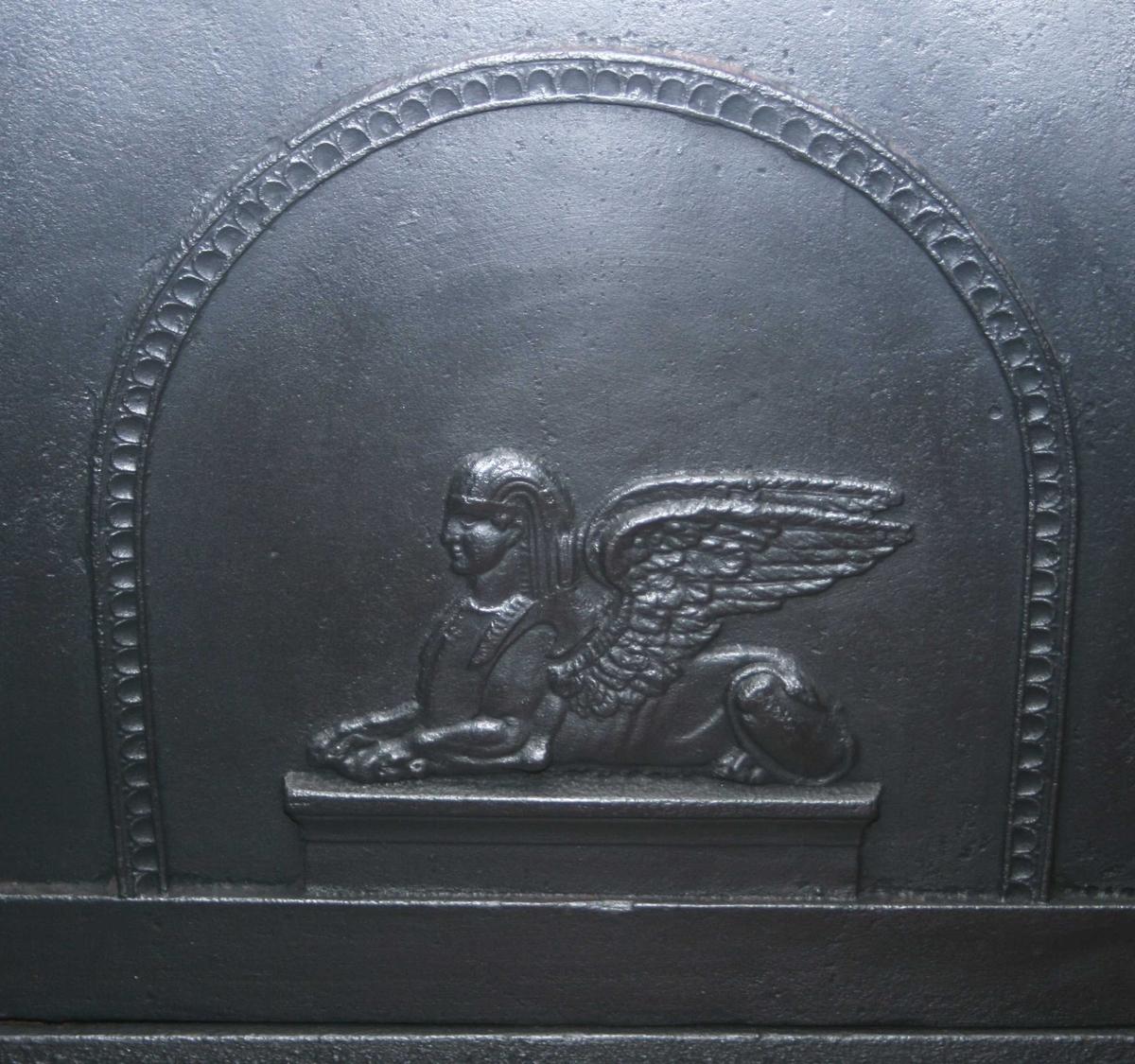 Sfinx., antikk kriger med bue,