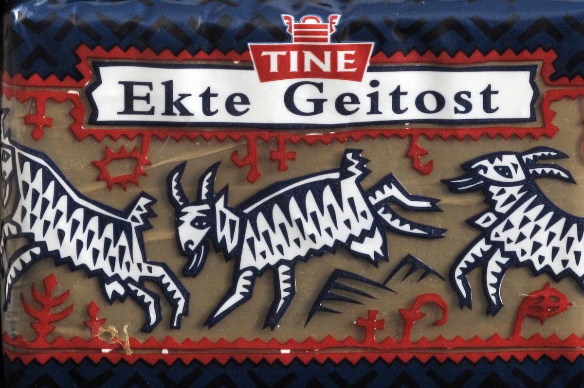Tre geiter i primstavinspirert ramme.
