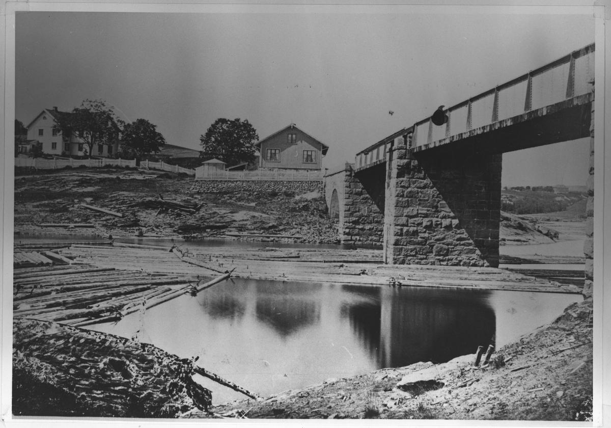 Den gamle Rælingen-broen.