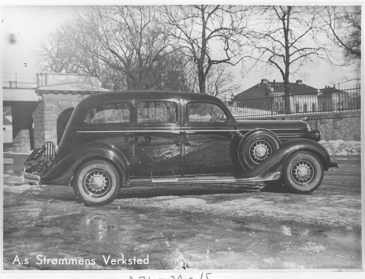 Dodge 1936 7-seter produsert på Strømmens Verksted