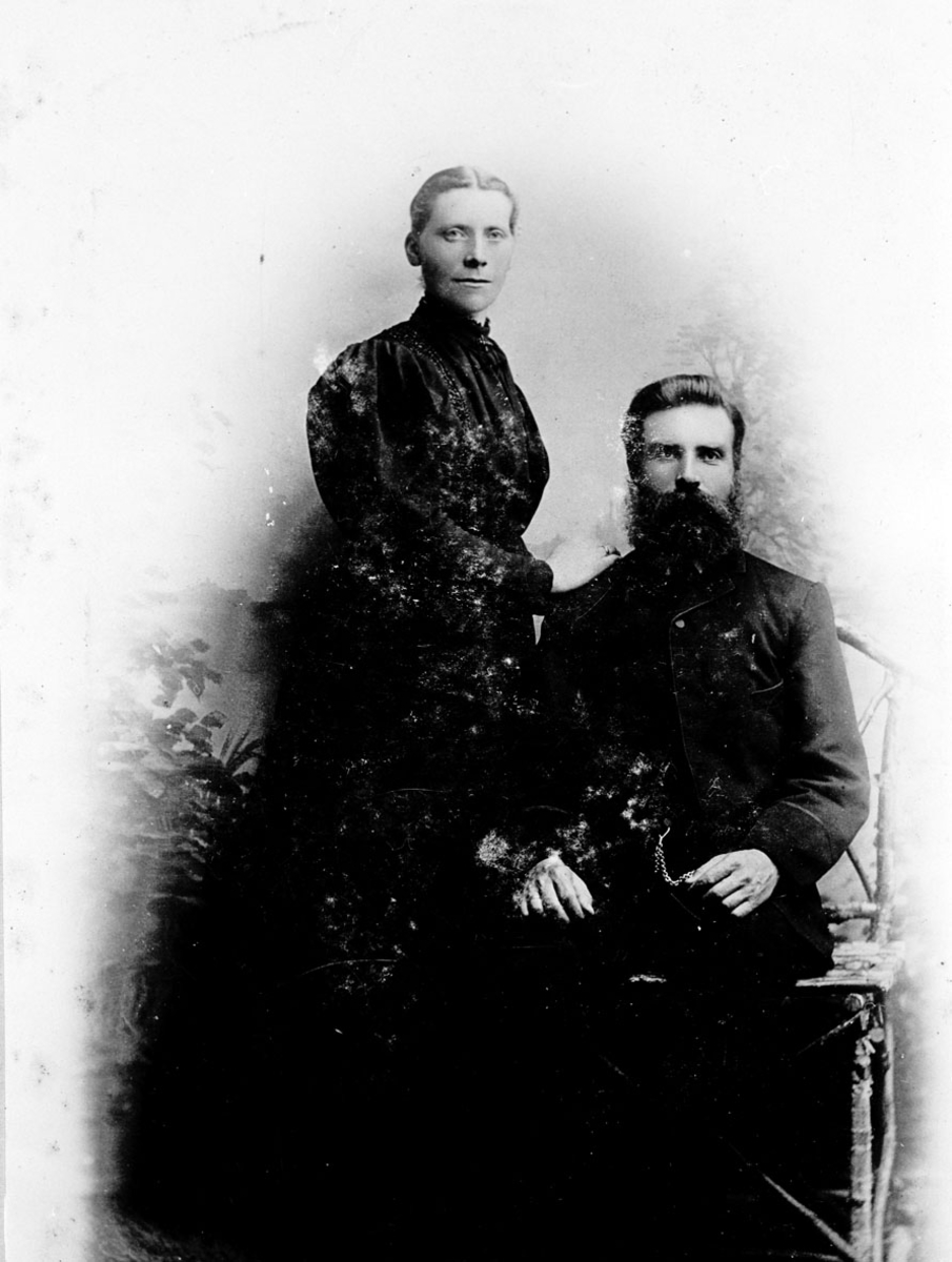 Hanna og Magne Helleland.