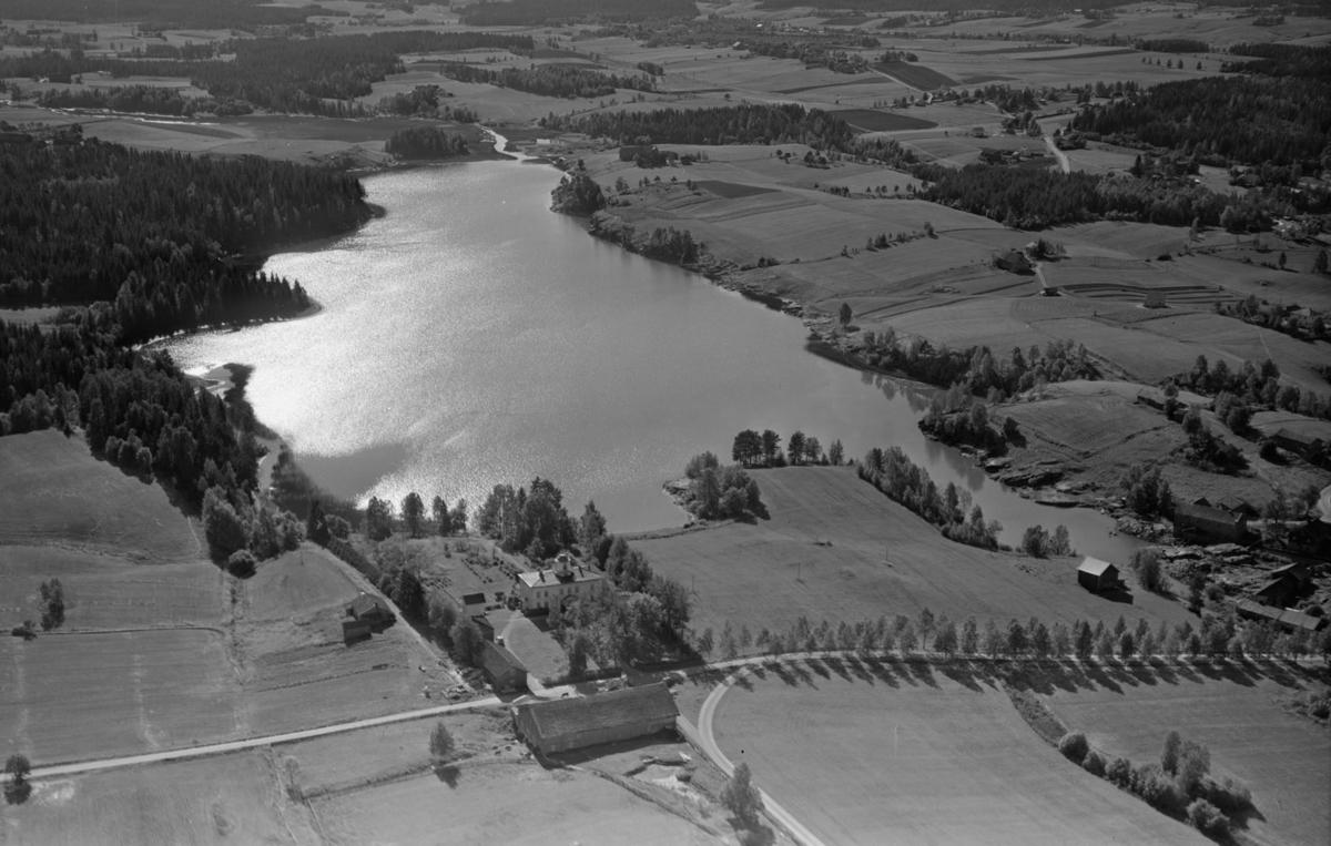 AURSKOG-HØLAND FOSSERSJØEN / FOSSER GÅRD LANDSKAP
