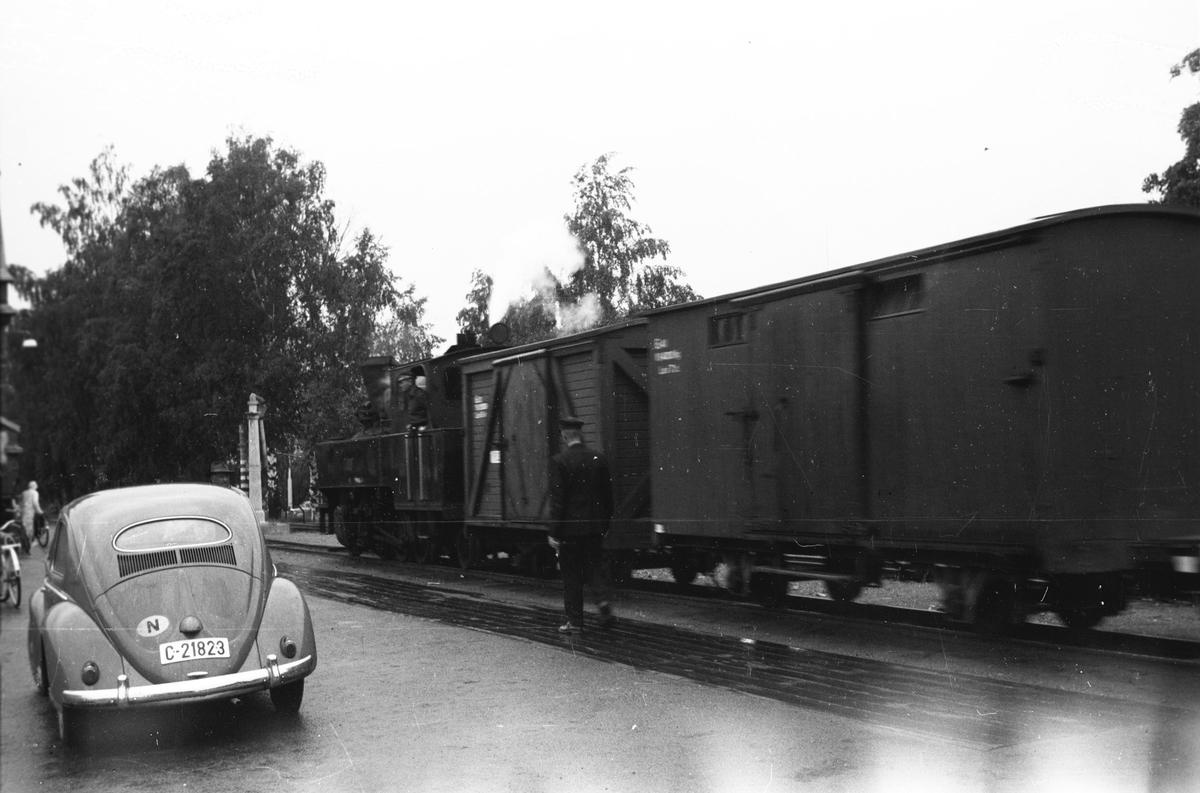 Skifting på Sørumsand stasjon