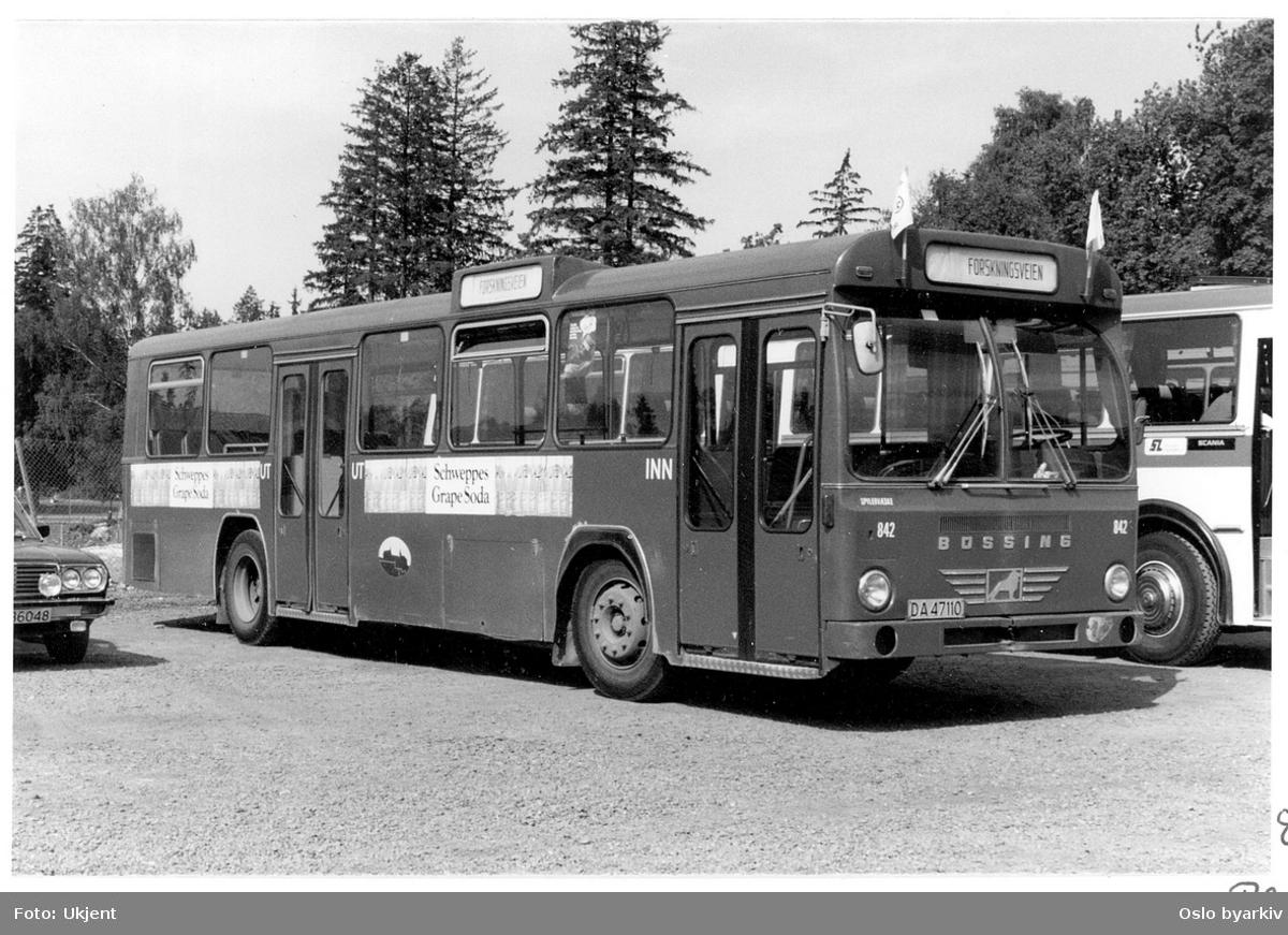 Oslo Sporveiers buss 842, Büssing BS110V, 1972
